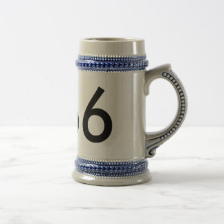 6666 - Besonders angefertigt Bierglas