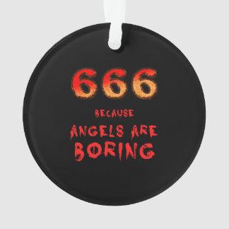 666 ORNAMENT