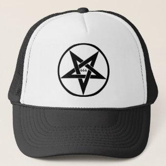 666 Pentagram-Hut Truckerkappe