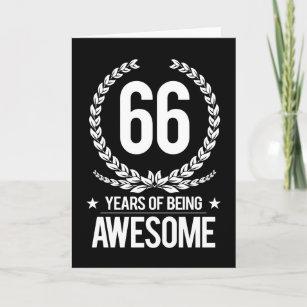 66 Jahre Alt Karten Zazzlede