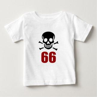 66 Geburtstags-Entwürfe Baby T-shirt