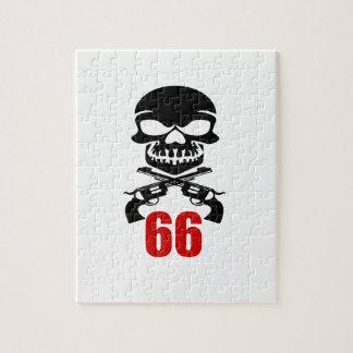 66 Geburtstags-Entwürfe Puzzle