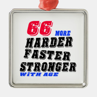 66 härtere schnellere stärkere mit Alter Silbernes Ornament