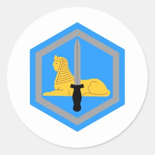 66. HeeresnachrichtendienstBn Runde Sticker