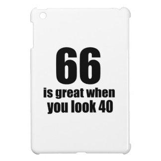 66 ist groß, wenn Sie Geburtstag schauen iPad Mini Hülle