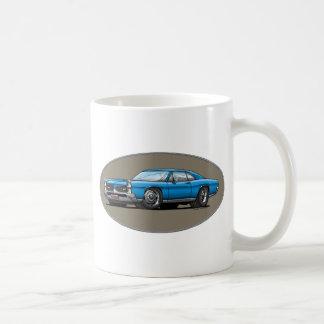 67 Pontiac GTO_blue Kaffeetasse
