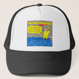 694 2 Fuß des Wasser-Cartoon Truckerkappe