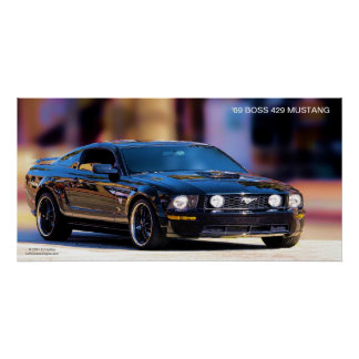 '69 MUSTANG-PLAKAT DES CHEF-429 POSTER