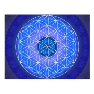 6 das drittes Auge chakra geschaffen durch Tutti Postkarte