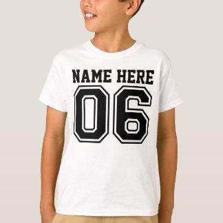 6. Geburtstag (der Name des kundengerechtes T-Shirt