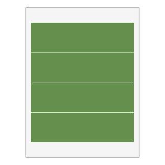 6 GRÖSSEN-Vorlagen, die u Farbe ändern kann, Wasserflaschenetikett