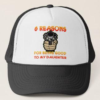 6 Gründe für Sein gut zu meiner Tochter Truckerkappe