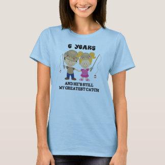 6. Hochzeitstag-Geschenk für sie T-Shirt