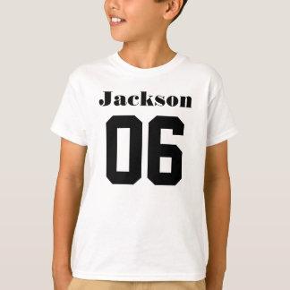 6. Individueller Name des Geburtstags-Shirt-| T-Shirt