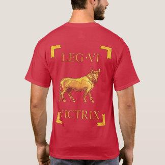 6 römischer Legio VI Victrix Vexillum T - Shirt
