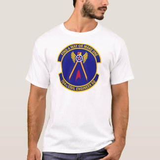 704th Ziviles Ingenieur-Geschwader T-Shirt