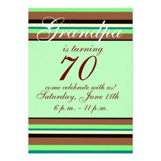 70 Geburtstag Einladung