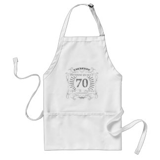 70. Geburtstags-Gag-Geschenk Schürze