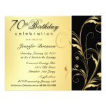 70. Geburtstags-Überraschungs-Party Einladungen
