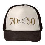 70 ist die neuen 50 truckermützen