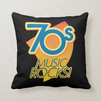 70er Musik-Felsen! Kissen
