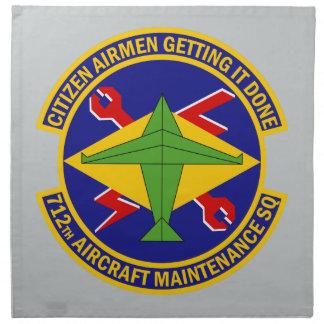 712th Flugzeugwartungs-Geschwader Serviette