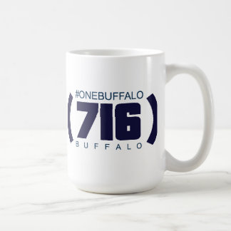 (716) Büffel, #OneBuffalo Kaffeetasse