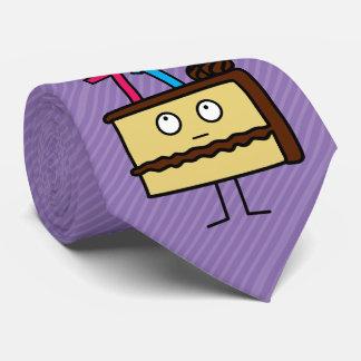 71. Geburtstags-Kuchen mit Kerzen Krawatte