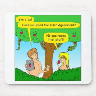 730 Adam- und Eve-Bedingungen Cartoon Mousepad