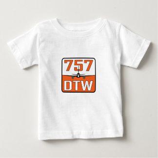 757 DTW Baby-Schellfisch Baby T-shirt