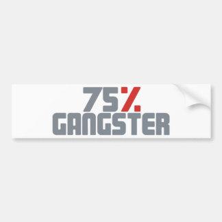 75 Gangster Autosticker