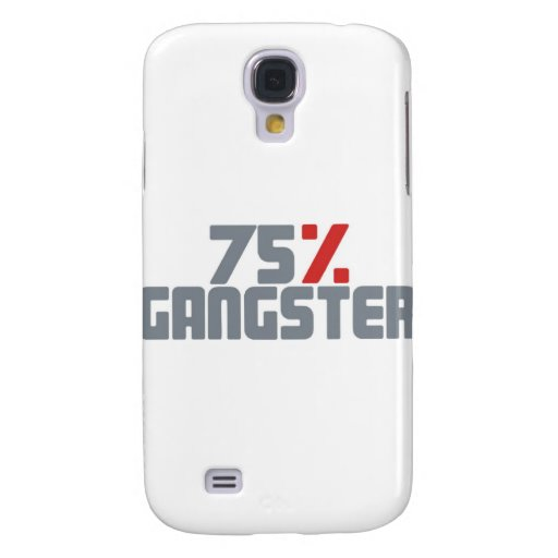 75% Gangster Galaxy S4 Hülle