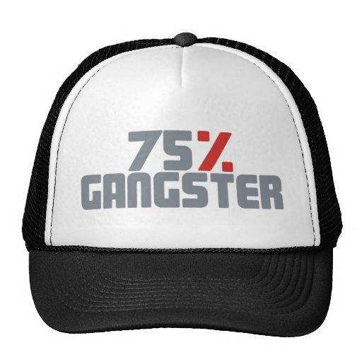 75% Gangster Retrokultmützen