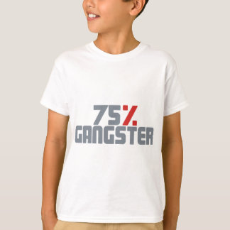 75% Gangster T-shirt