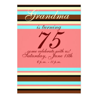 75 Geburtstag Einladung