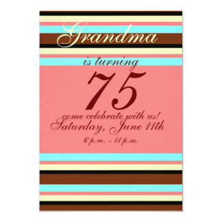75. Geburtstag Einladung