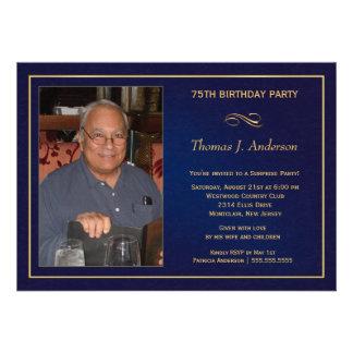 75. Geburtstag Einladungen