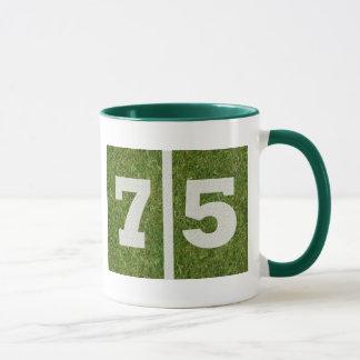 75. Geburtstags-Tasse Tasse