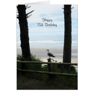 75. Geburtstagskarten Grußkarte