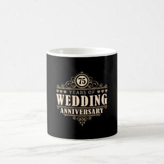 75. Hochzeitstag Tasse