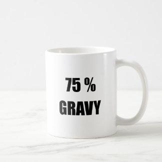 75% Soße Kaffeetasse