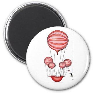7) der Held - tony fernandes Runder Magnet 5,1 Cm