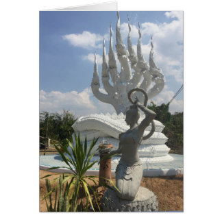 7 ging Naga und Phra Mae Thoranee, Mutter Erde Karte