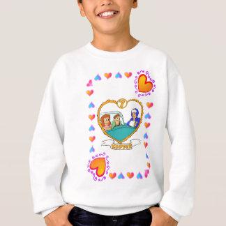 7. Jahrestag - Kupfer Sweatshirt