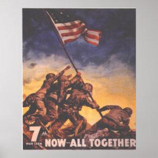 7. Kriegs-Bindung Plakatdrucke