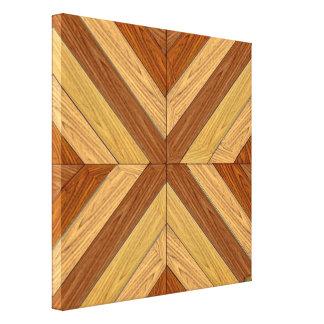 7. Muster; Neuer Parkettboden Leinwanddruck