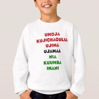 7 Prinzipien von Kwanzaa Sweatshirt