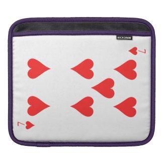 7 von Herzen Sleeve Für iPads