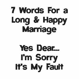 7 Wörter für eine lange und glückliche Heirat