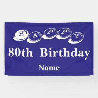 80. Geburtstag Innen Banner